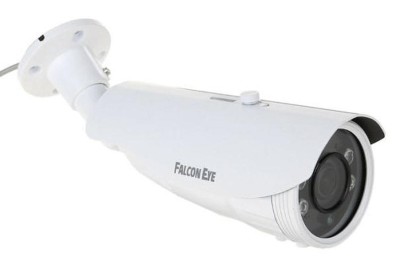 Уличная гибридная AHD видеокамера Falcon Eye FE-IBV1080MHD/45M (f: 2,8-12 мм)